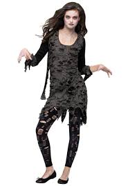 Scary Characters For Halloween by Teen Living Dead Girls Costume Zombie Costumes Scary Costumes