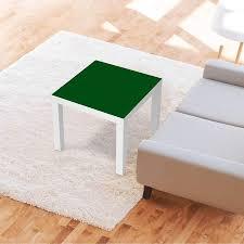 möbelfolie ikea lack tisch 55x55 cm design grün