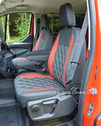 Ford Transit Custom Sport Crewcab Tailored Seat Covers Car Seat ...