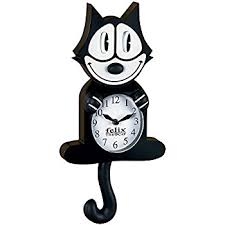 felix the cat authentic collectible felix the cat wall clock
