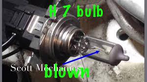 how to change vw polo headlight bulb replaced by mechanics