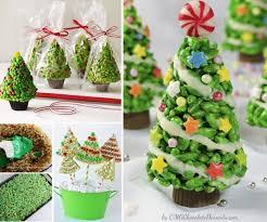 Rice Krispie Treat Christmas Trees Food Recipes Ideas Party Favors Art