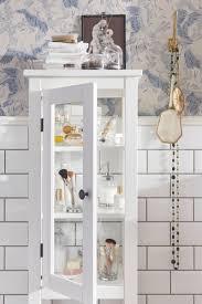 hemnes hochschrank mit vitrinentür weiß 42x38x131 cm