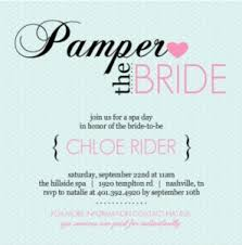 Pampered Pink Blue Bridal Shower Invitation By PurpleTrail