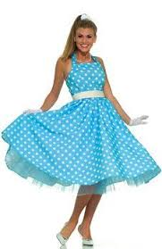 50s Summer Daze Polka Dot Dress