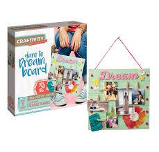 Amazon CRAFTIVITY Dare To Dream Board Craft Kit Toys Games