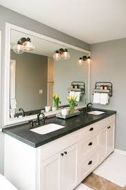 Elegant White Bathroom Vanity Ideas: 55+Most Beautiful Inspirations ... Glesink Bathroom Vanities Hgtv The Luxury Look Of Highend Double Vanity Layout Ideas Small Master Sink Replace 48 Inch Design Mirror 60 White Natural For Best 19 Bathrooms That Will Make Your Lives Easier 40 For Next Remodel Photos Using Dazzling Single Modern Overflow With Style 35 Rustic And Designs 2019 32 72 Perfecta Pa 5126
