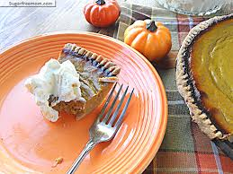 Pumpkin Pie Without Crust And Sugar by Healthier Pumpkin Pie Low Calorie U0026 Low Sugar