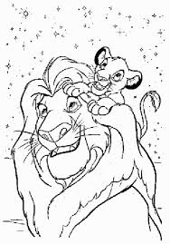 Amazing Free Lion King Coloring Pages Best KIDS Design Ideas