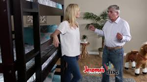 jerome s furniture tripledecker bunkbed youtube