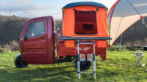 100 Pickup Truck Tent Camper Go MotoGlamping With The Elektro Frosch