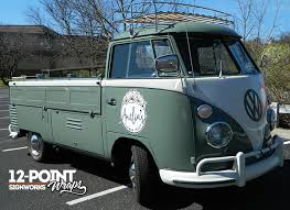 VW Transporter Truck With Custom Graphics For Amelias Flower In Nashville TN 12