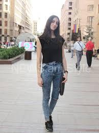 Street Style In Yerevan Armenian Girls Summer Looks Photos