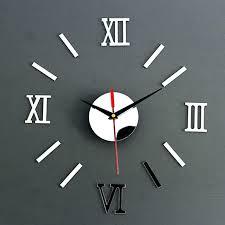 wall clocks that light up large analog clock digital image is