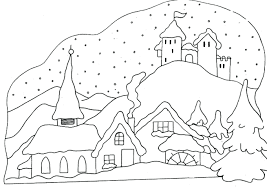 Winter Coloring Sheets Dltk Bookmarks Page Snowy Free Pages Clothes Printable Full Size