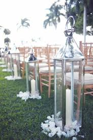 Candle Lantern Ceremony Aisle Decoration