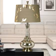Chic Lamps And Silver Color Glass Fixture