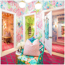 Lilly Pulitzer Bedding Dorm by The Lilly Pulitzer Dressing Room I Was In A Couple Weeks Ago