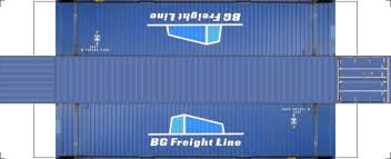 100 Shipping Container Model Build Your Own Free Printable 48ft Hi Cube