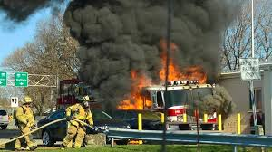 Fire Truck Being Driven To Canada Catches Fire Near Syracuse   State ... Fire Truck Fans To Muster For Annual Spmfaa Cvention Hemmings Ignites At Grandview Fire Station Push Ride On Truck Best Choice Products File1964 Ford Fseries Sipd Heightsjpg Wikimedia Commons On The Driver Capes Then Look What Happens Youtube Car Collides With Engine Mighty Motorized Goliath Games Big Red Isolated White Background 3d Illustration Driving 1mobilecom Amazoncom Bruder Mack Granite Engine Water Pump Toys Bald Eagle Lands Firetrucks 911 Flag Display Campaigning Against Cancer Pink Scania Group