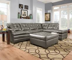 Craigslist Leather Sofa Dallas by Designs By Simmons U2013 Simmons Apollo Charcoal 2pc Sectional