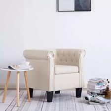 sessel stoff mit kissen kiefer holz und sperrholz rahmen für wohnzimmer schlafzimmer wohnkultur gepolsterten vintage sessel