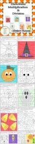 Halloween Multiplication Worksheets Coloring by Best 25 Multiplication Facts Worksheets Ideas On Pinterest Math