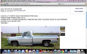 Best Chevy Trucks For Sale By Owner Craigslist Image Collection