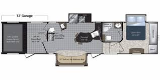 Raptor 5th Wheel Toy Hauler Floor Plans by 2010 Keystone Rv Raptor Fifth Wheel Series M 3912 Specs And