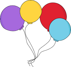 clipart image of balloons balloon clip art images