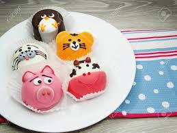 kreative gebäck essen kuchen lustig lustige tiere für kinder