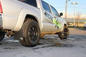 Rokblokz Truck Mud Flaps For 05-14 Toyota Tacoma With Over-sized ... Custom Tires Wheels Wheel And Tire Packages Chrome Rims Light Truck Tyres Van Minibus Size Price Online 2214 American Force Trax Ss Polished 73mm Wheels With 371350 114 Retread 17 Commercial Semi Rizonhobby Roady Time To Get Sandy This Rams Mitsubishi 14 Yard Dump Ta Sales Inc Trailer Inventory Search Nova Centresnova Centres News Warren Llc Index