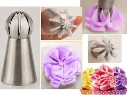 Cakes Decorated With Russian Tips by Amazon Com New Version 6pcs Set Sphere Ball Tips Russian Icing