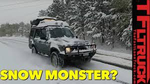 100 Best Trucks For Snow First How Good Is The Land Rover Discovery II In The Winter