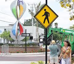Pumpkin Patch Festival Sarasota by Sarasota Installs First Roundabout Art Photo Galleries