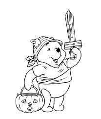 Pooh Pirates Halloween Costume Disney Coloring Pages