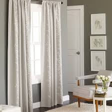 target threshold embroidered vine light blocking curtain panel