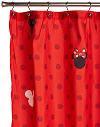 charming mickey and minnie shower curtain with mickey and minnie