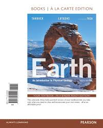 Earth An Introduction To Physical Geology Books A La Carte Edtion 12th Edition
