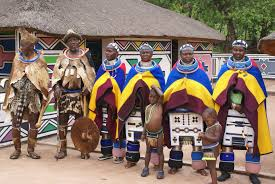 Ndebele Culture Tribe Pattern Arts Houses Traditional Attire