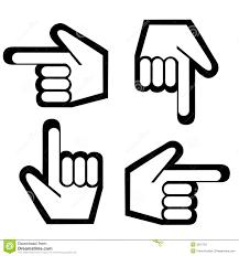 Pointing Finger Graphic ModaFinilsale