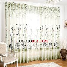 Country Style Living Room Curtains by Modern Chinese Country Style Bamboo Pattern Living Room Curtains