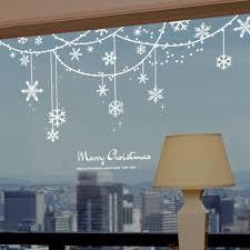 Christmas Tree Amazonca by Snowflake Solid Decoration Christmas Window Sticker Amazon Ca