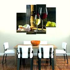 Excellent Dining Room Wall Art Ideas Com Within For Plan Kerala