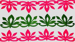 Paper BorderHow To Make Cutting Border Designseasy Craft