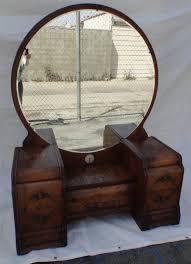 Birdseye Maple Vanity Dresser by Art Deco Waterfall Vanity Dressing Table With Mirror Los Angeles