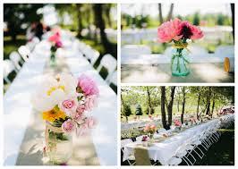 Outdoor Party Table Centerpiece Ideas