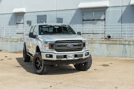 Lifted 4x4 2018 Ford F-150 RADX Stage 2 Silver Custom Truck - RAD Rides