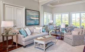 Coastal Living Room Furniture With Regard To And Also Beach Cottage Decor 7