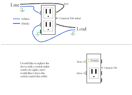 diagram how to wire switches combination switch outlet light